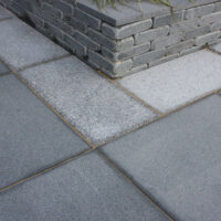 Polar granite paving