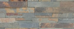 Antique slate veneer