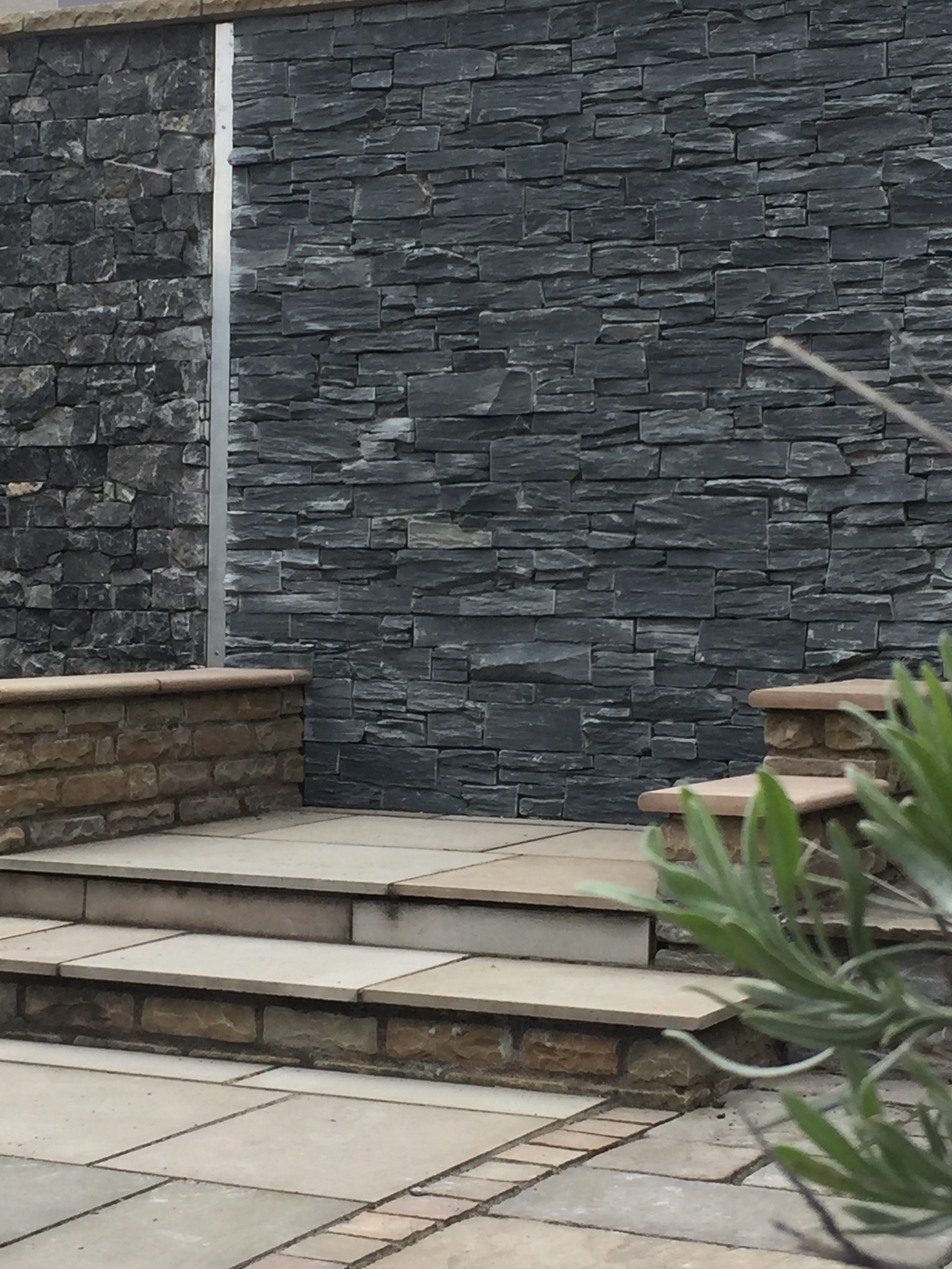 Decarock Stone Cladding Charcoal Slate