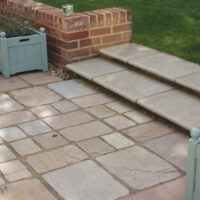 Old Rectory Cobbles : Buff Brown
