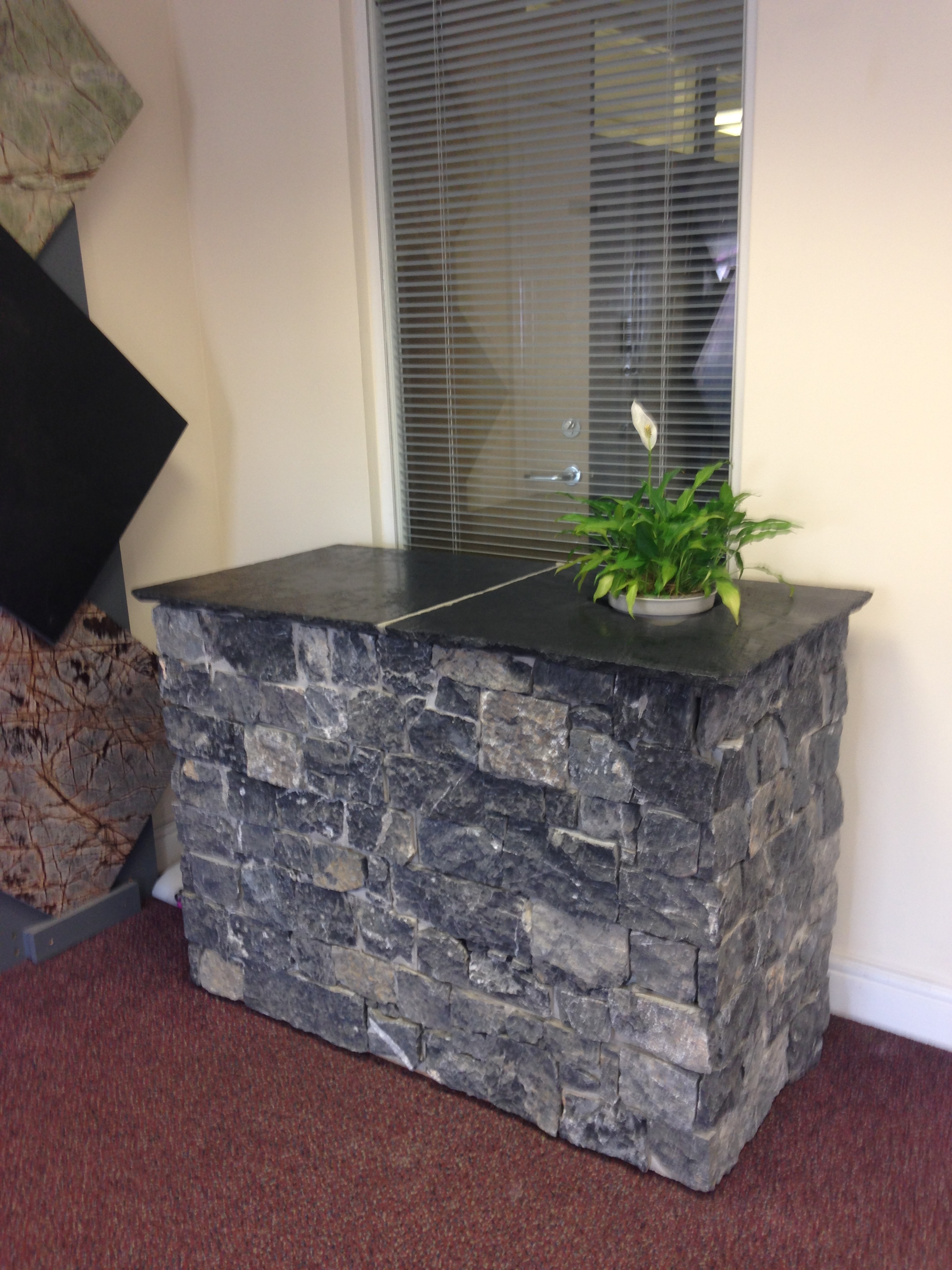 Decarock Stone Cladding Black Limestone