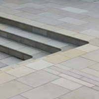 Mirage sandstone linear paving