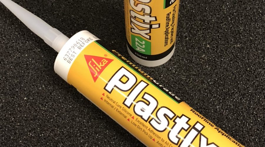 Now in stock…. Sika silicone